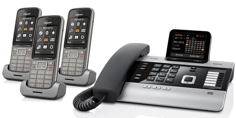 Gigaset DX800A Telefonsystem