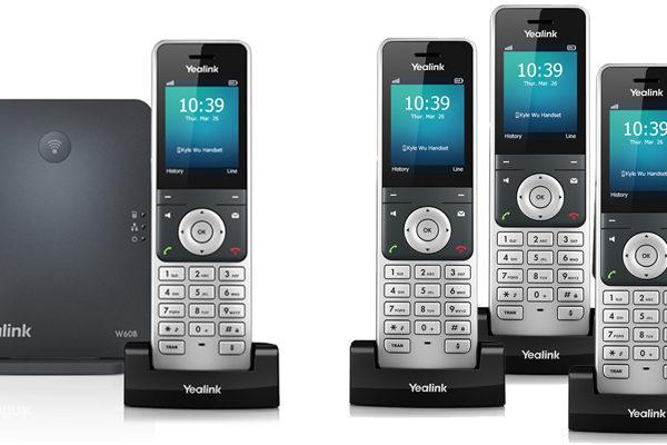 Yealink W60 DECT-IP-Telefon