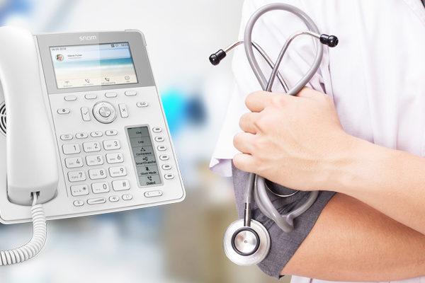 Telefonanlage für Ärzte